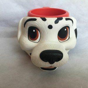 Applause 3D Disney 101 Dalmatians Plastic Mug